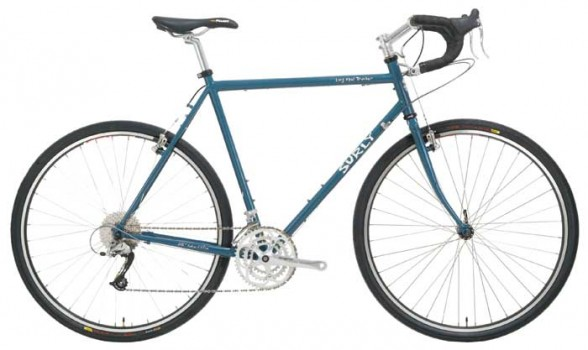 surly long haul trucker touring bicycle