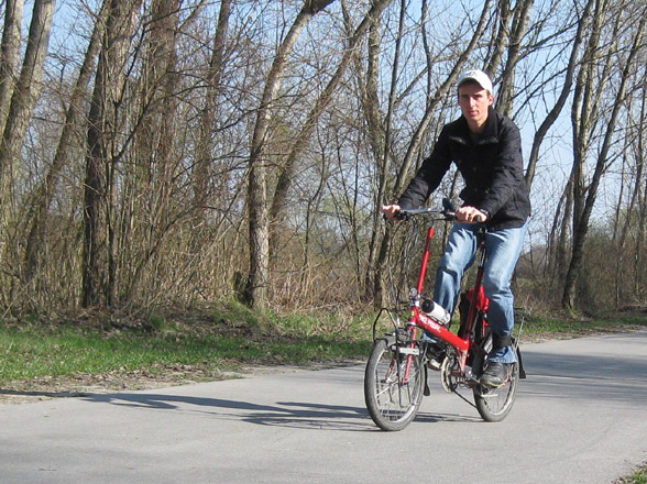riding a bike friday bicycle