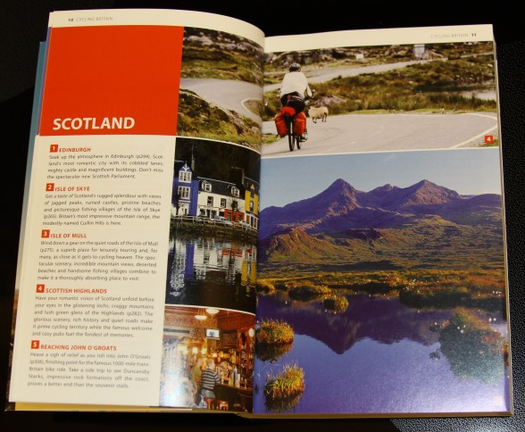 Infomration about cycling in Scotland