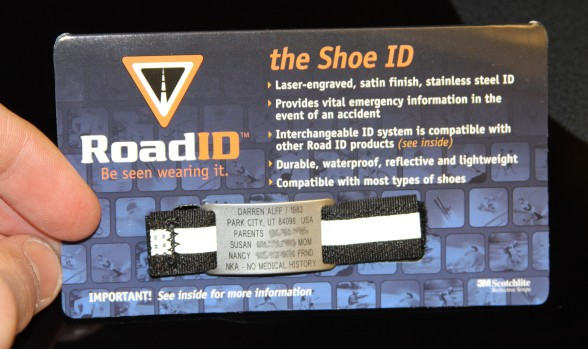 Road ID Show - The Shoe ID packaging