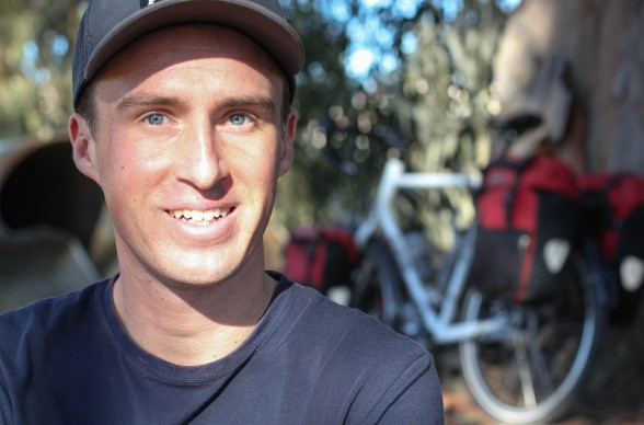Darren Alff is the Bicycle Touring Pro