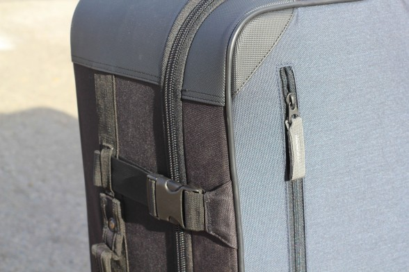 zipper and straps on co-pilot case