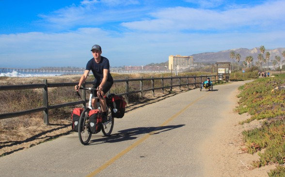 Cycle touring in Ventura