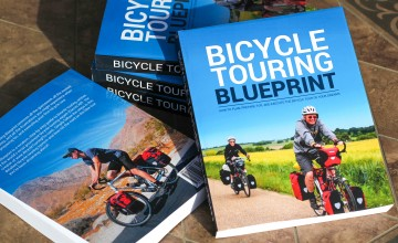 The Bicycle Touring Blueprint book