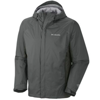 Columbia rain jacket - dark green