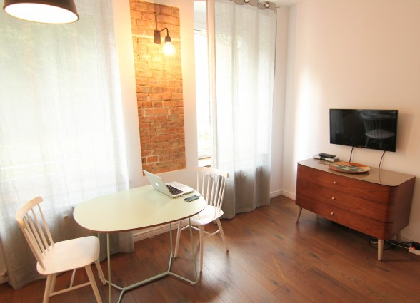 Poznan Poland AirBNB D6 studio apartment