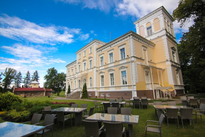 Estonian manor hotel
