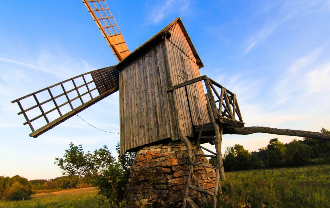 Vanatoa Windmill Estonia