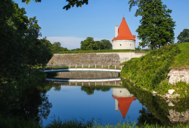 Estonia island castle