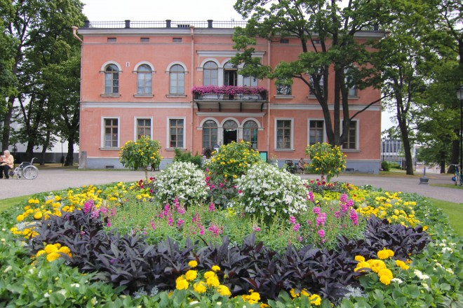 commercial flower business and cafe in helsinki finland