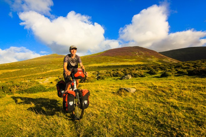 Bicycle Touring Pro in beautiful Wales