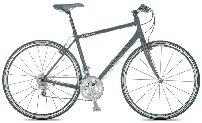 giant touring bicycle