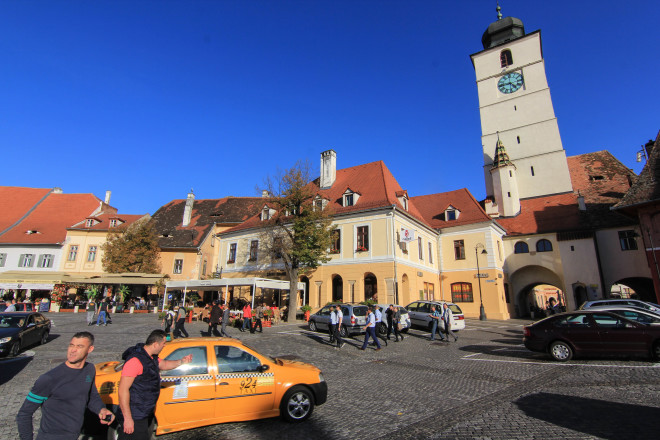 council tower sibiu romania