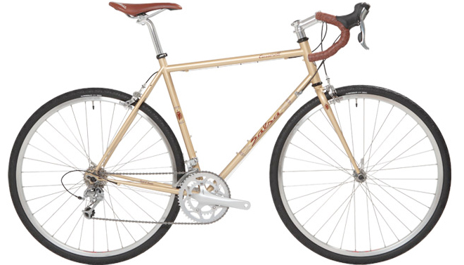 salsa casseroll touring bicycle