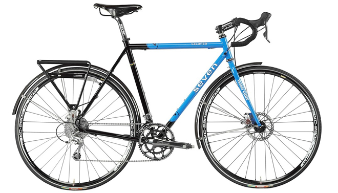 Seven Cycles Vacanza road touring bicycle