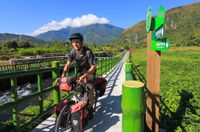 Green Taiwan bicycle paths