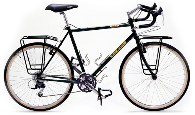 bruce gorden cycles blt touring bicycle
