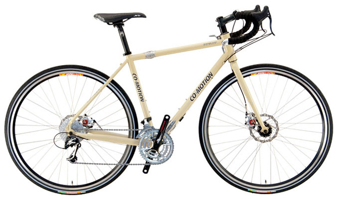 co-motion american touring bicycle