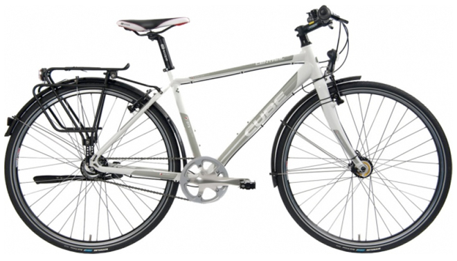 cube central touring bicycle