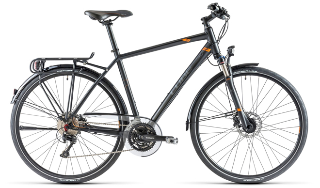 cube touring pro bicycle