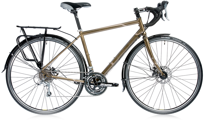 opus legato touring bicycle