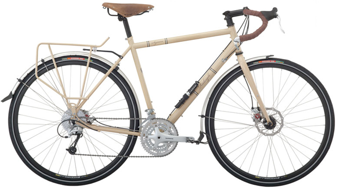raleigh sojourn classic touring bicycle