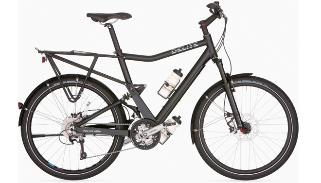 Riese And Muller Delite Touring bicycle