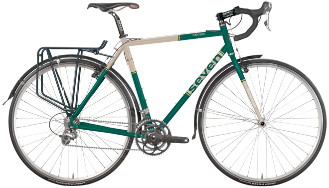 seven cycles halcyon touring bicycle