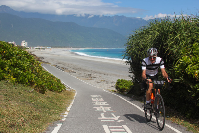 Taiwan's east coast bicycle path