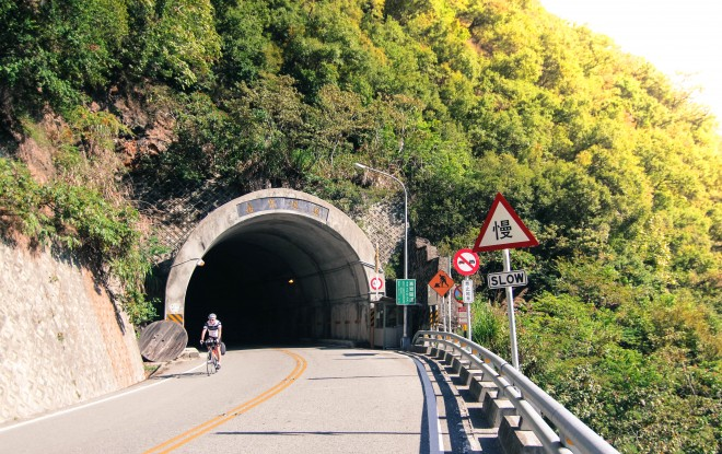 cycling routes with tunnels