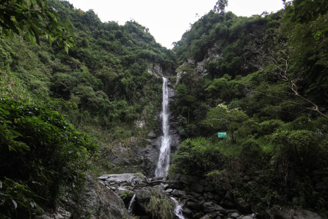 taiwan jungle waterfall