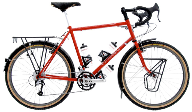 Thorn Sherpa touring bicycle details and review