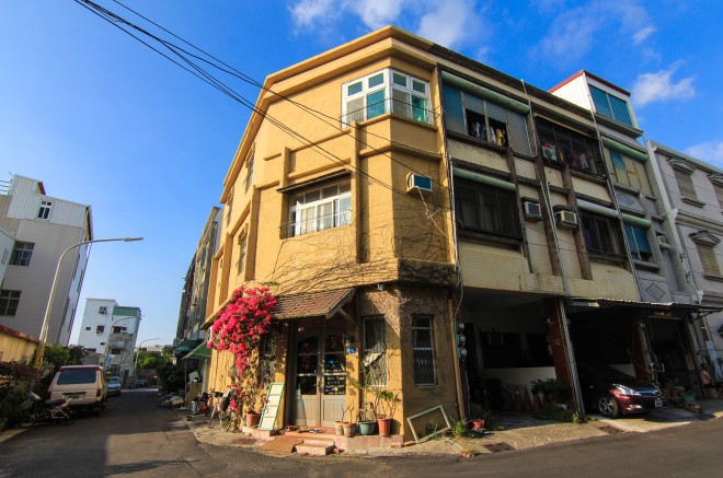 exterior photo of taiwan tourist hostel