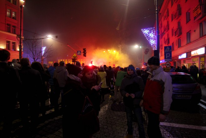 New Years in Poznan, Poland