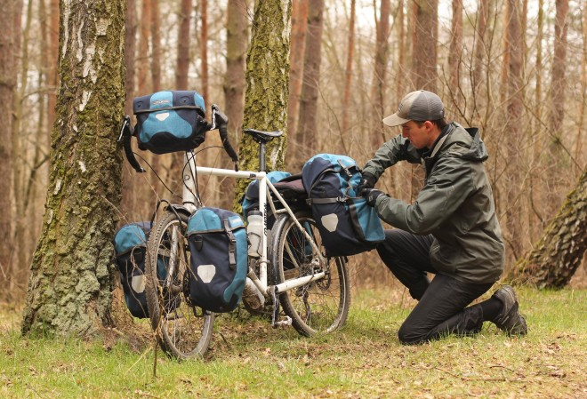 bicycle touring gear - a packing list from a pro