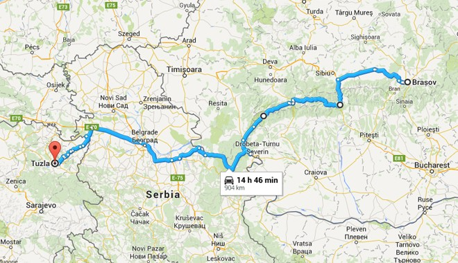 how to plan a bicycle road trip in romania serbia and bosnia