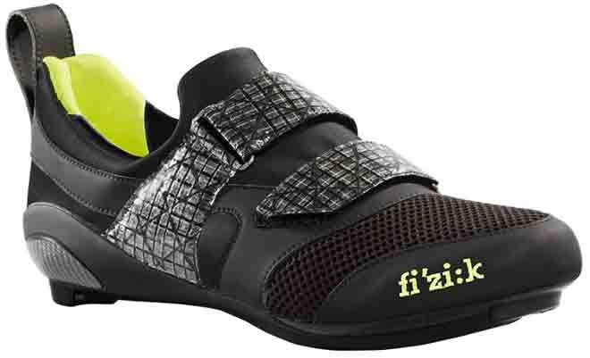 fizik black and yellow triathlon shoes