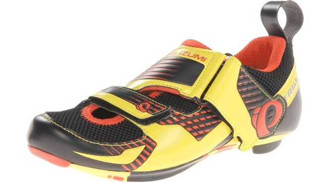 pearl izumi yellow triathalon shoes