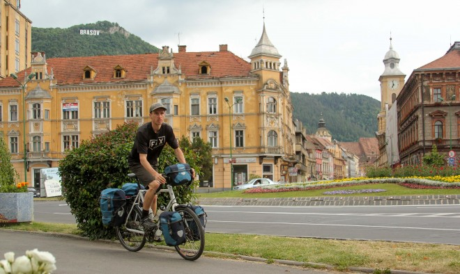brasov romania bike tour photo