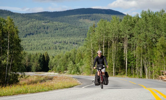 Norway highway 40 bike route