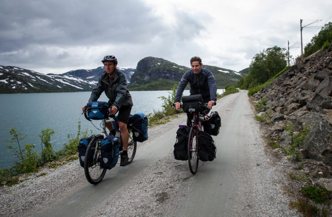 biking across norway