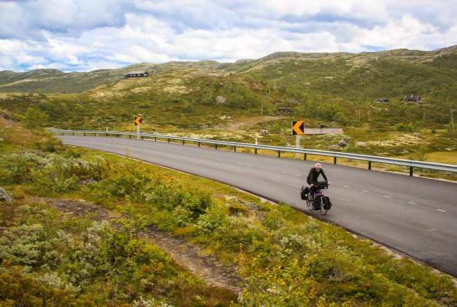 Rallarvegen bicycle path