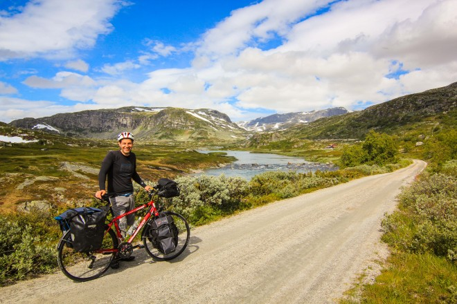 cycling across norway