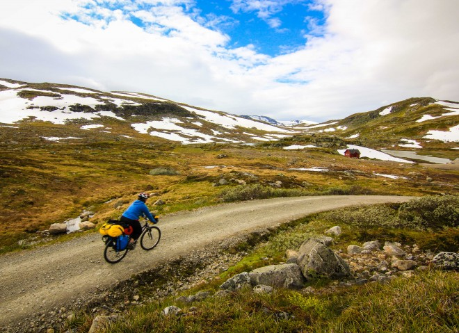 Norway cross country bicycle paths