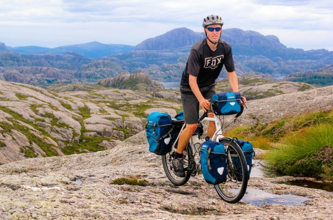 Norway bike tour with the bicycle touring pro