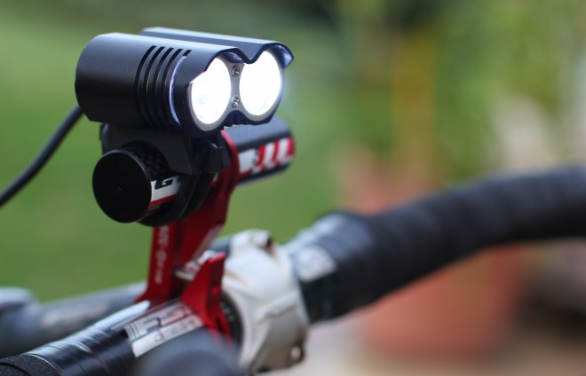 Dark knight Bicycle Headlamp Battery Powered Bicycle Lights