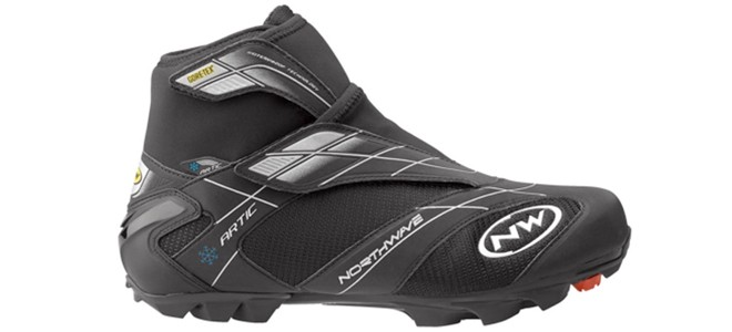 northwave artic black winter cycling shoes