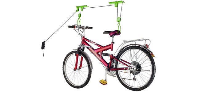 bicycle storage list hoist