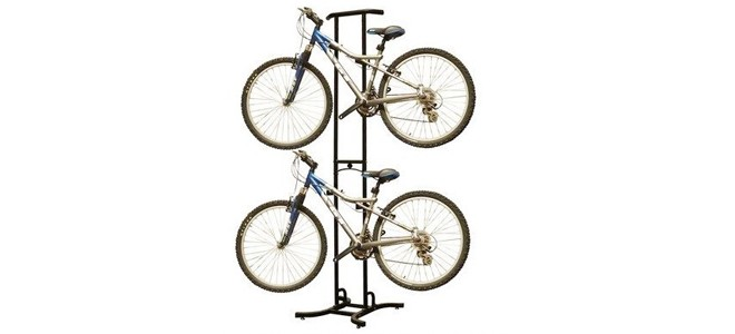 stoneman sports 2 bike storage racks for garage