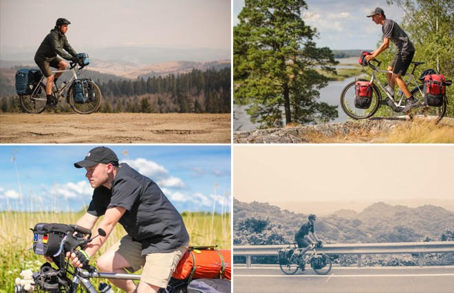how to take perfect side photos of a bicyclist